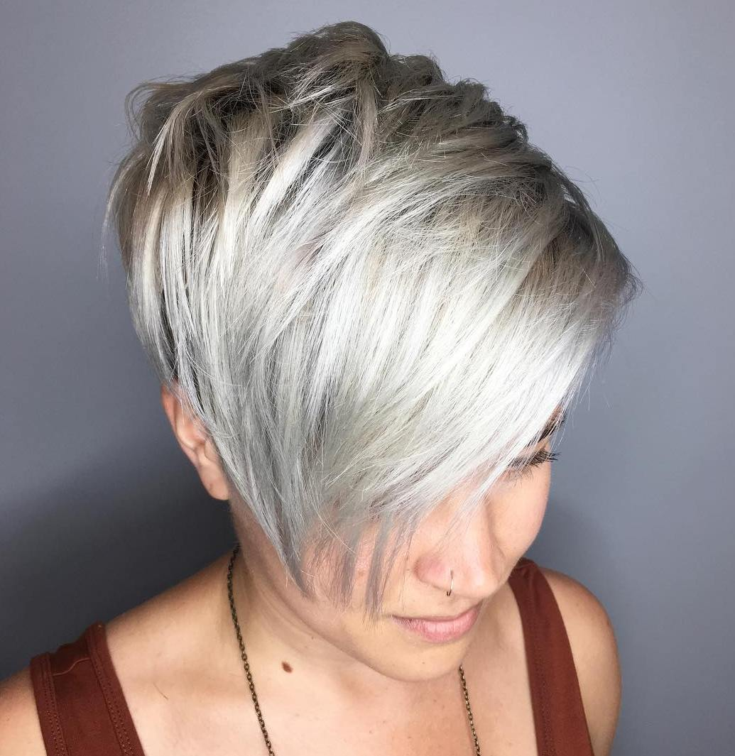 Choppy Pixie with Long Layers