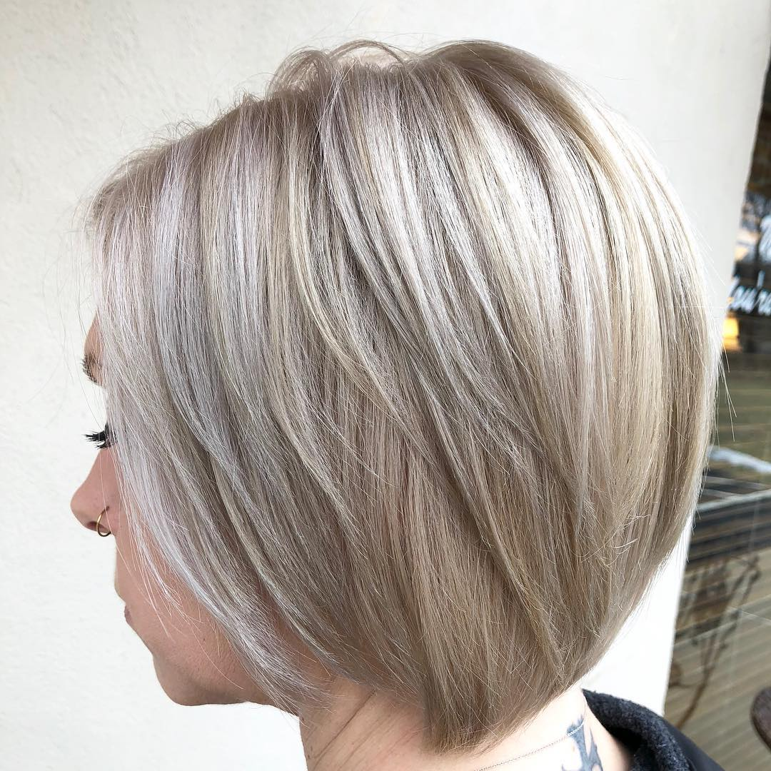 Feathered Bob with Longer Layers