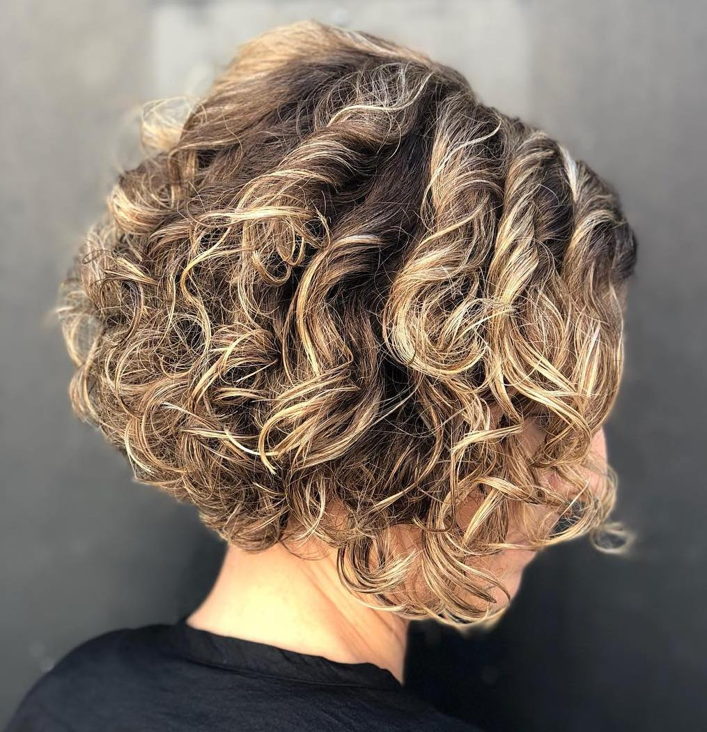 Bronde Bob with Curls