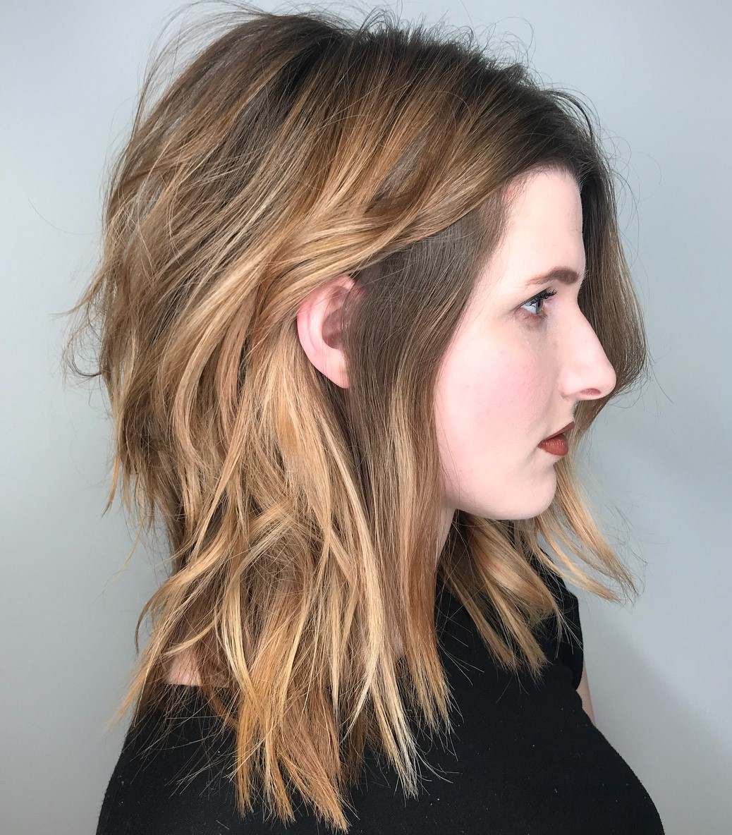 Shaggy Layered Haircut for Thick Hair