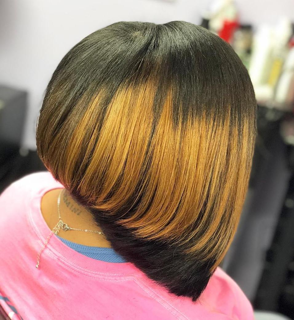 Bob Hairstyle with Layers