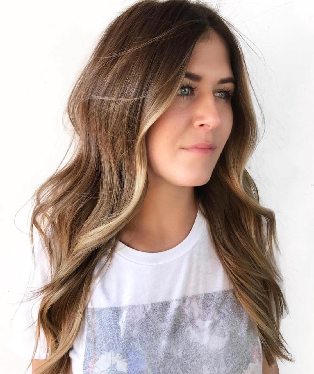 Honey and Mocha Brown Balayage Hair