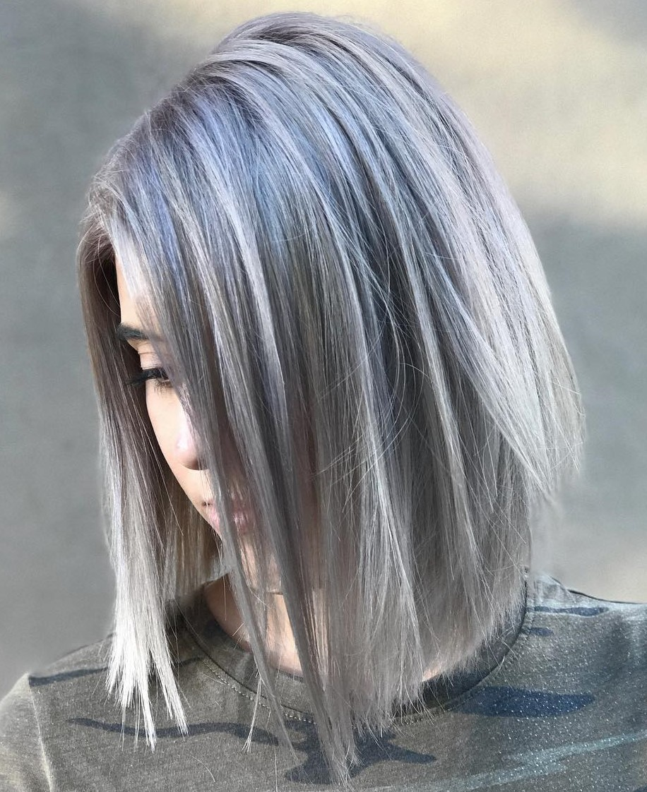Gray Lob with Highlights