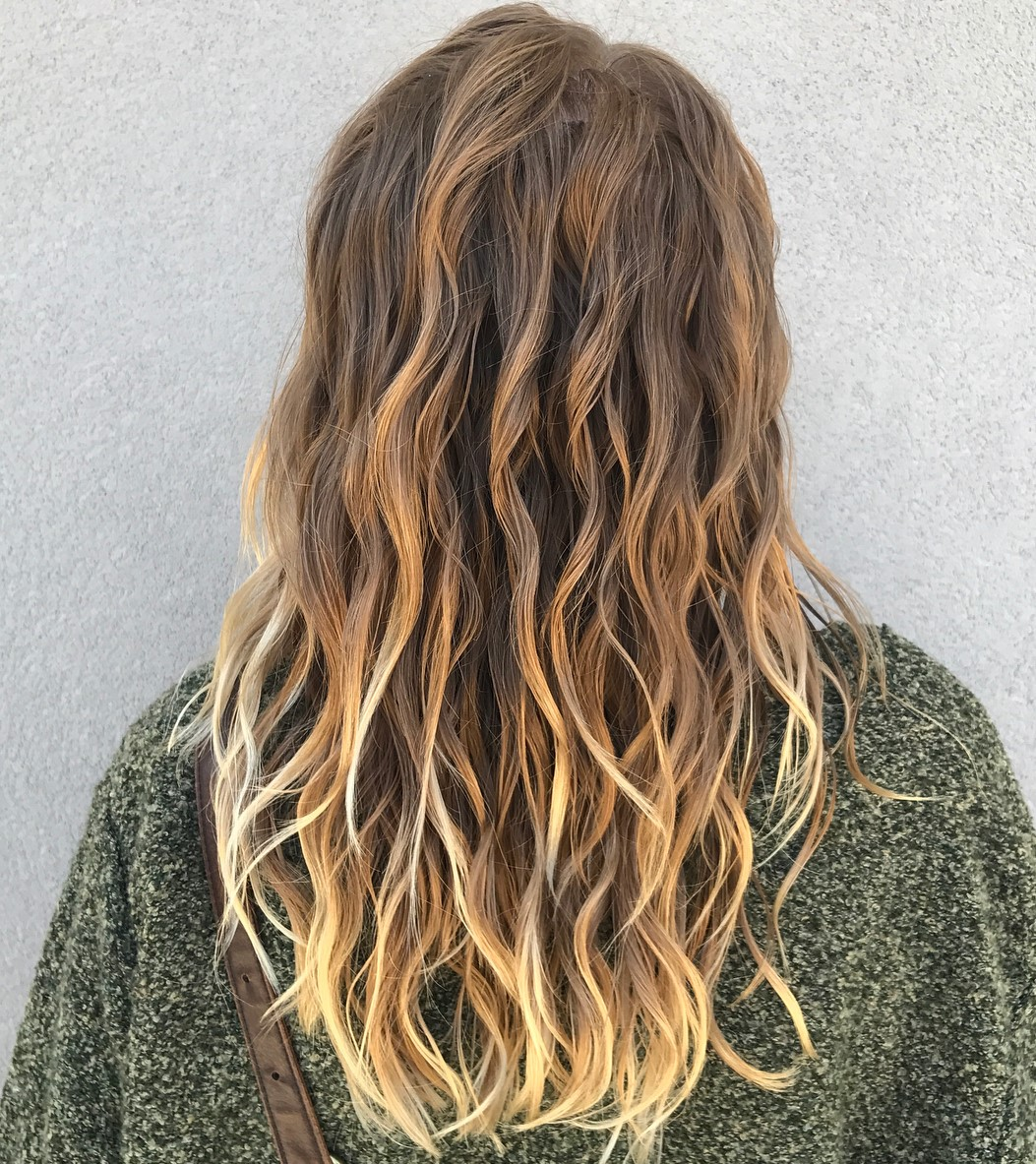 Bronde Beach Wave Perm