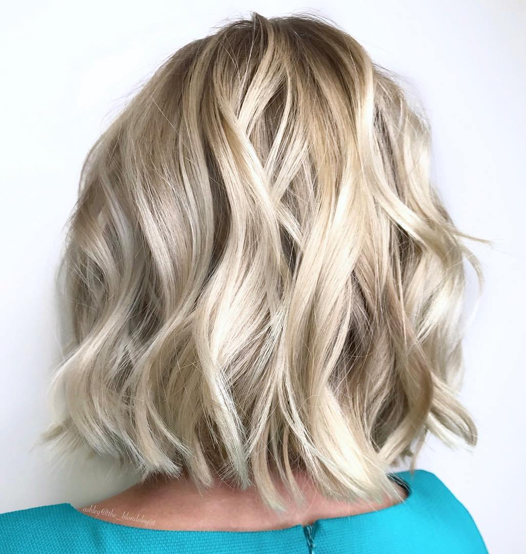 Neck-Length Bob with Waves