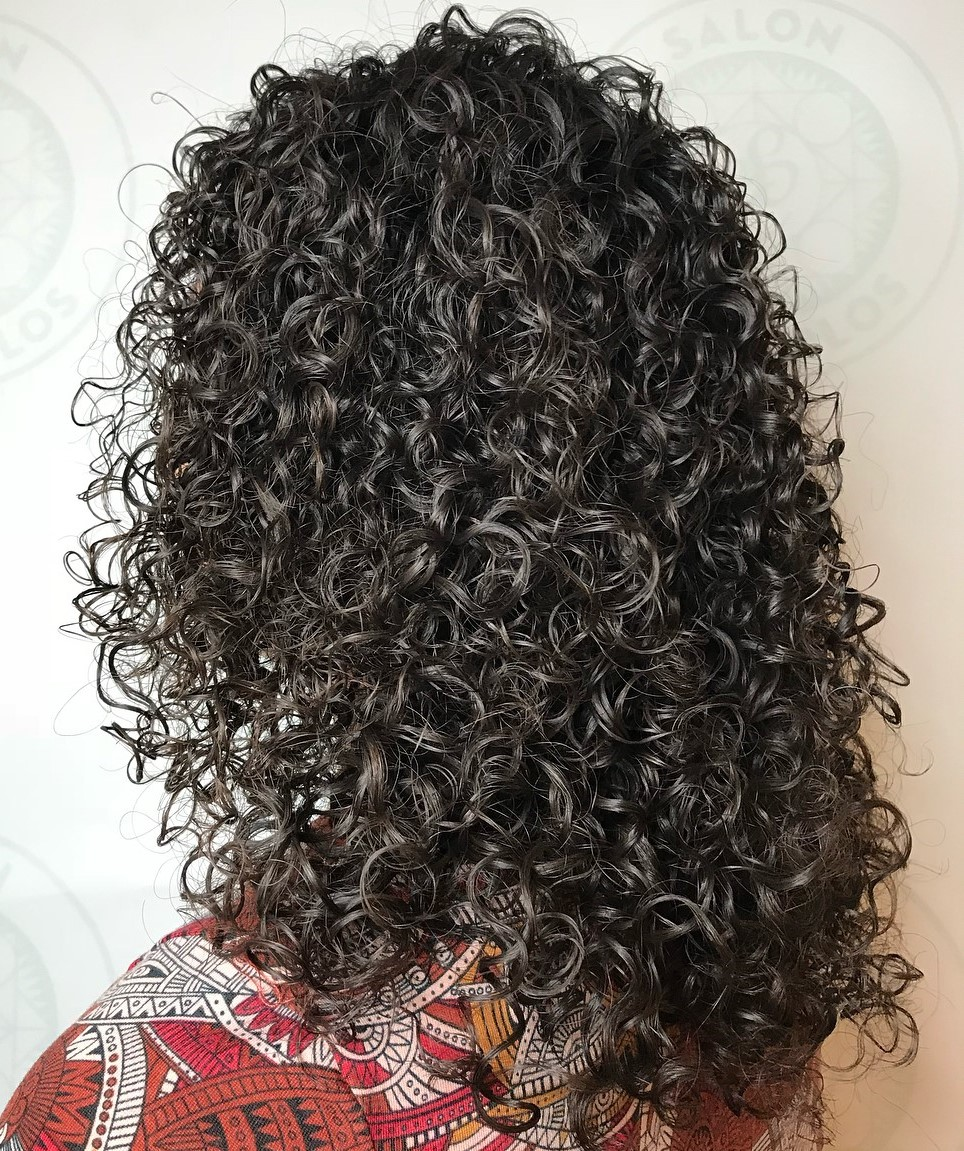 Tight Bouncy Perm Curls