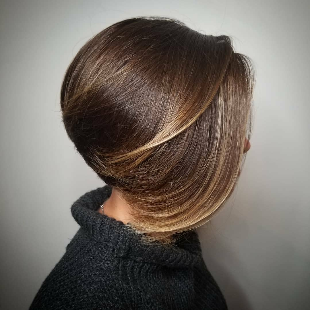 Inverted Bob with Long Frontal Layers
