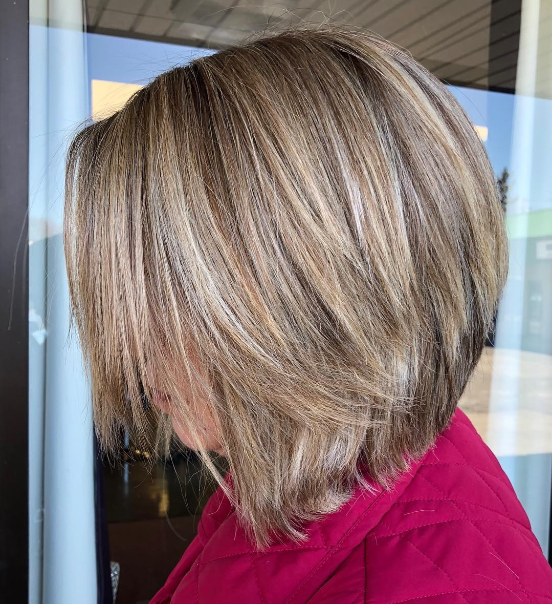 A-line Bob with Stacked Layers