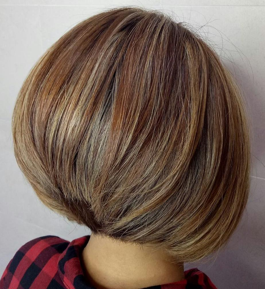 Flawless Inverted Bob for Thick Hair