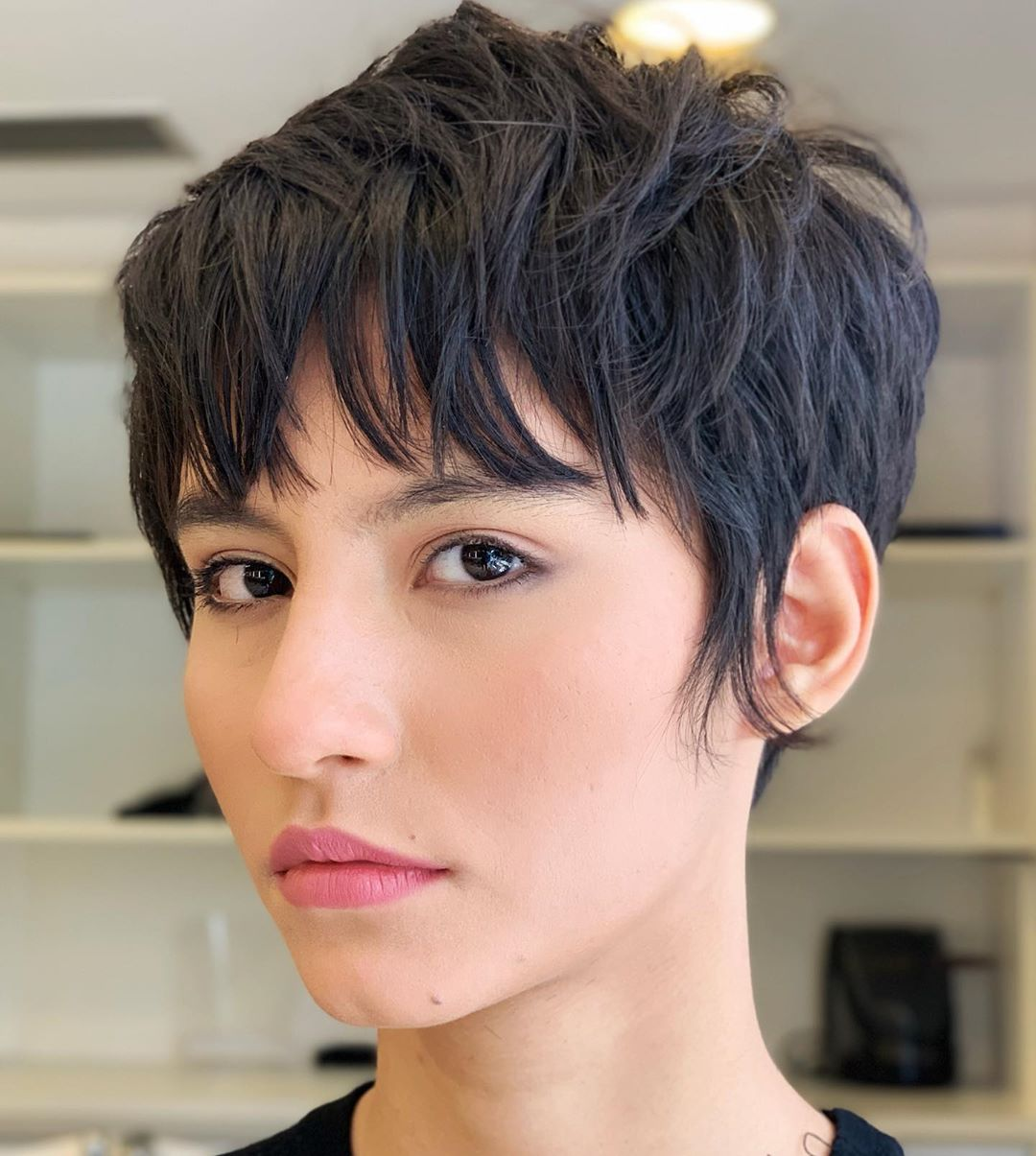 50 New Pixie Cut With Bangs Ideas For The Current Season Hair Adviser