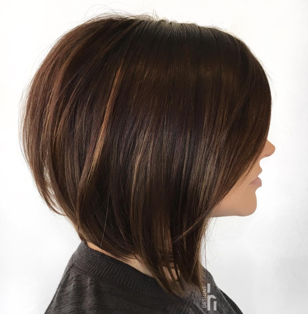 Cute Stacked Long Bob