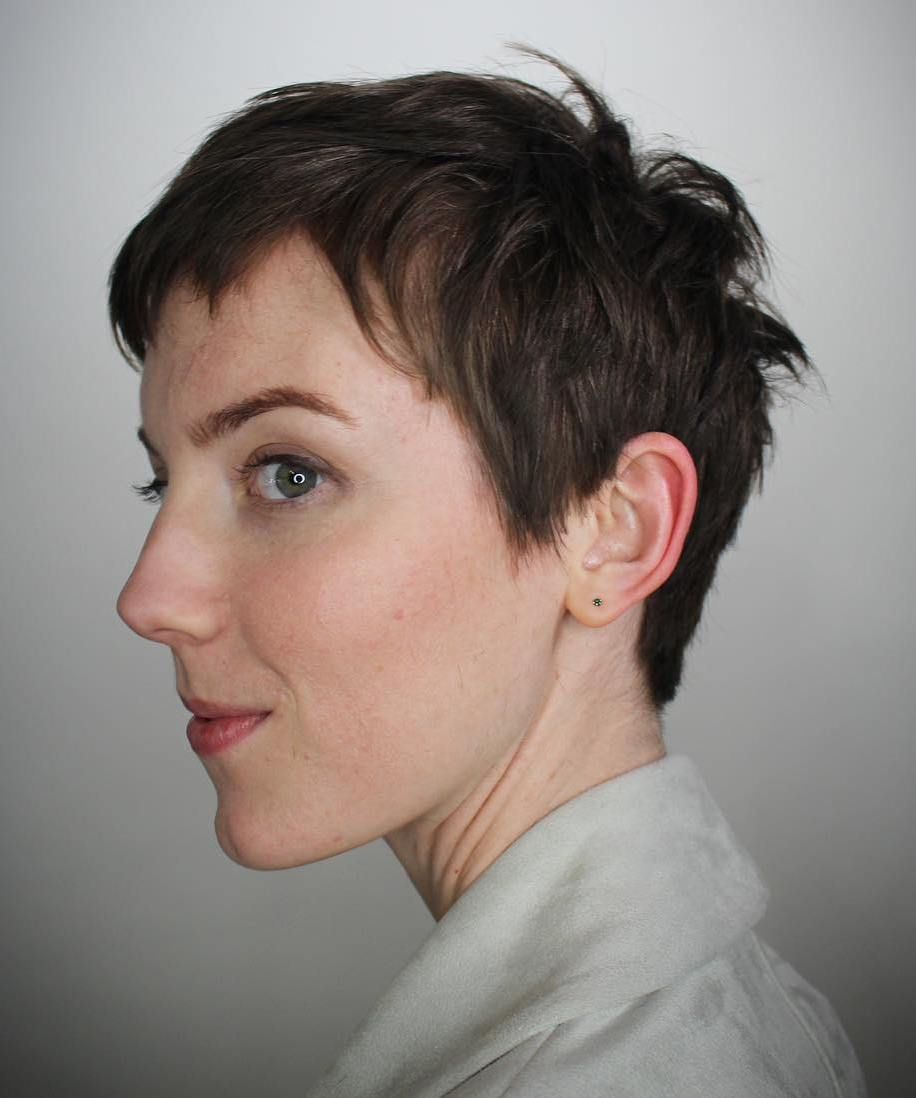 Short Messy Pixie Cut