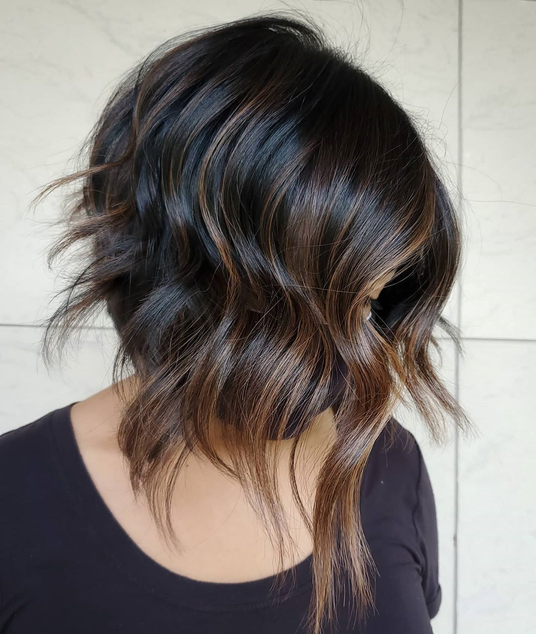 Inverted Lob with Shaggy Layers