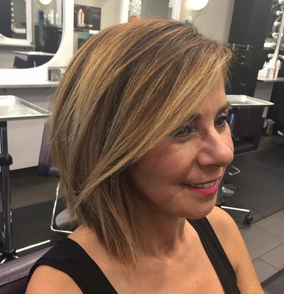 Beautiful Choppy Shoulder-Length Bob