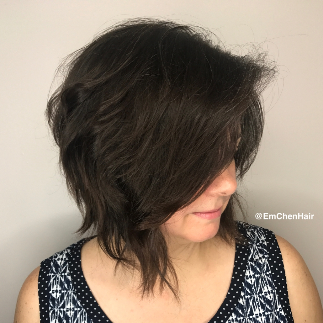 Cute Sassy Inverted Bob