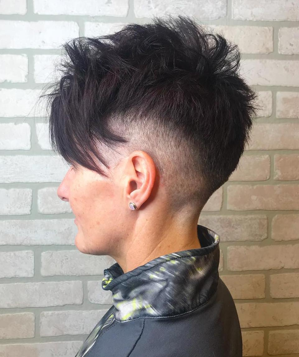 Spiky Pixie with Fade