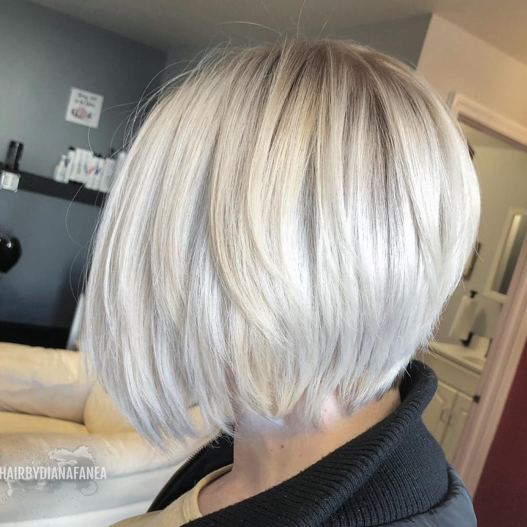 Silver Stacked Bob