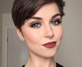 Short Choppy Pixie
