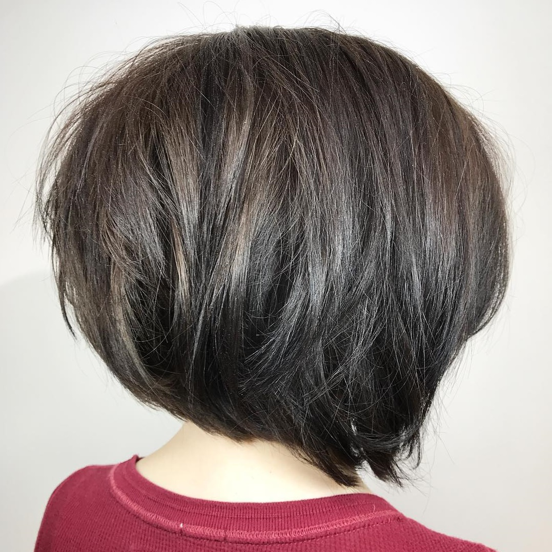 Easy Short Inverted Bob Hairstyle