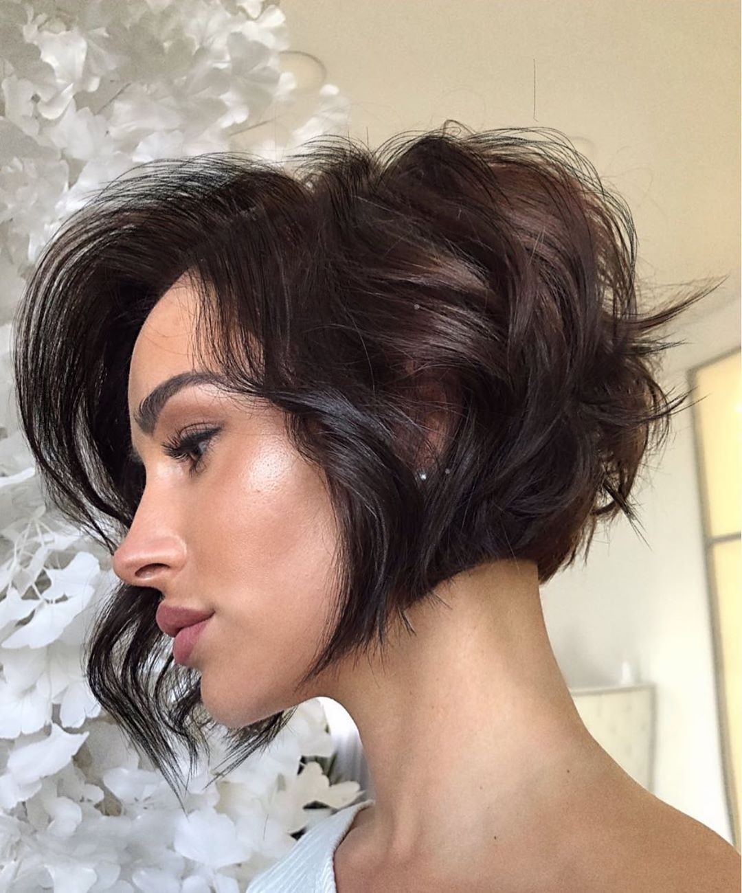 Trendy Jaw-Length Stacked Bob