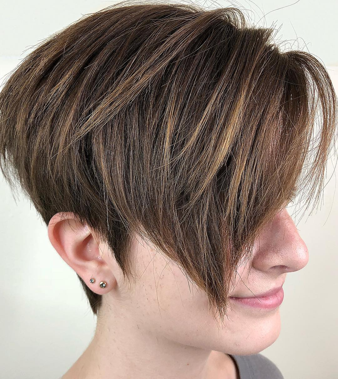 Undercut Pixie for Thick Hair