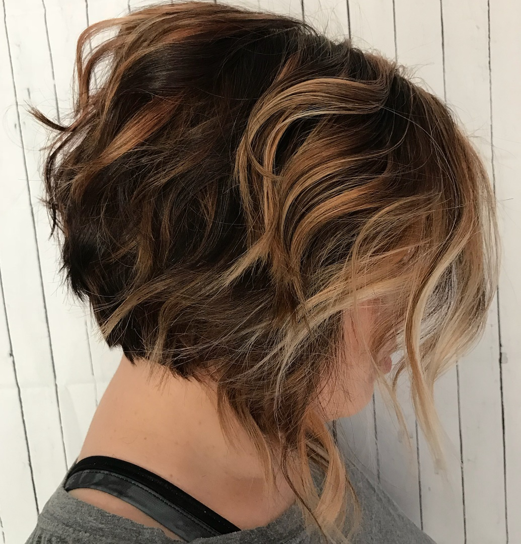 Stacked Messy Cut with Uneven Layers
