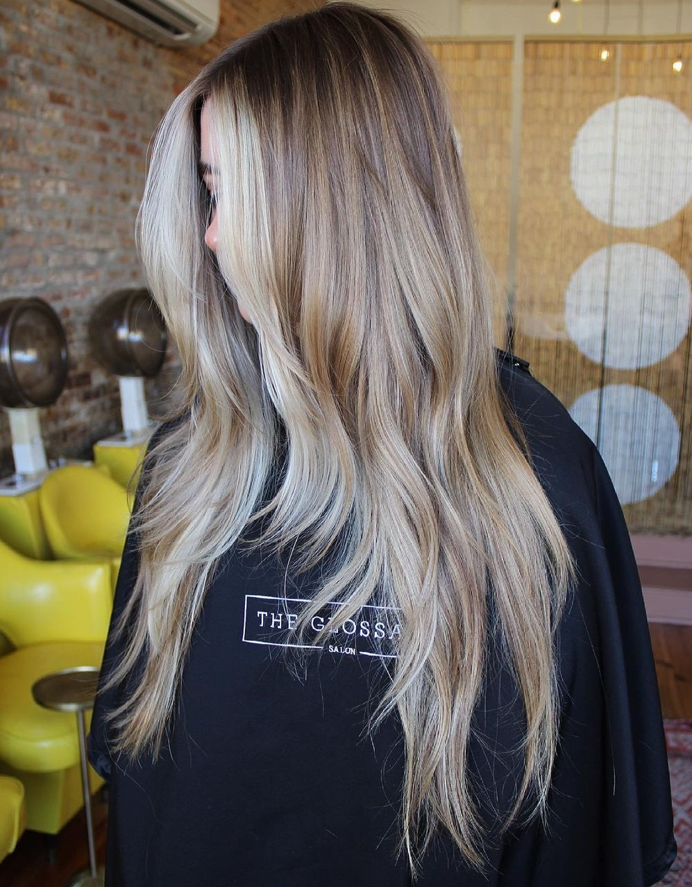 Long Messy Cut with Layers