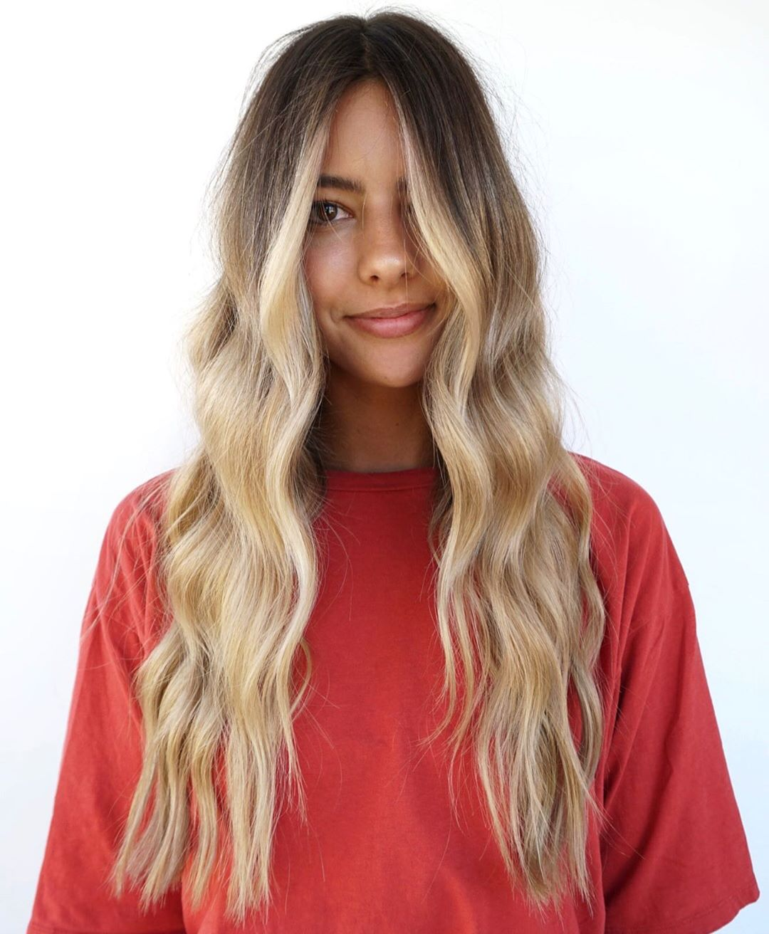 Blonde Hair Color with Highlights for Tan Skin