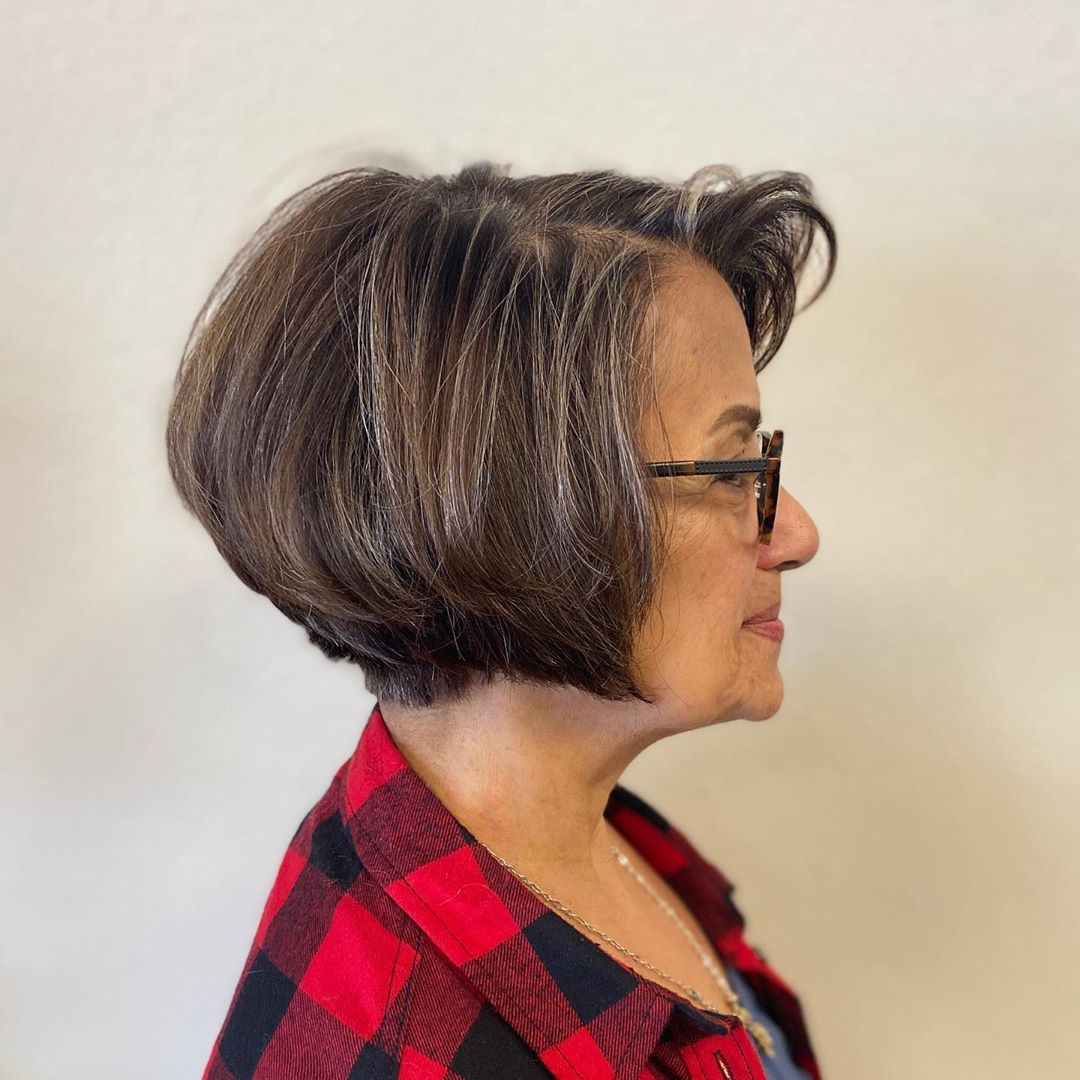 Best Bob Hairstyle for Older Women