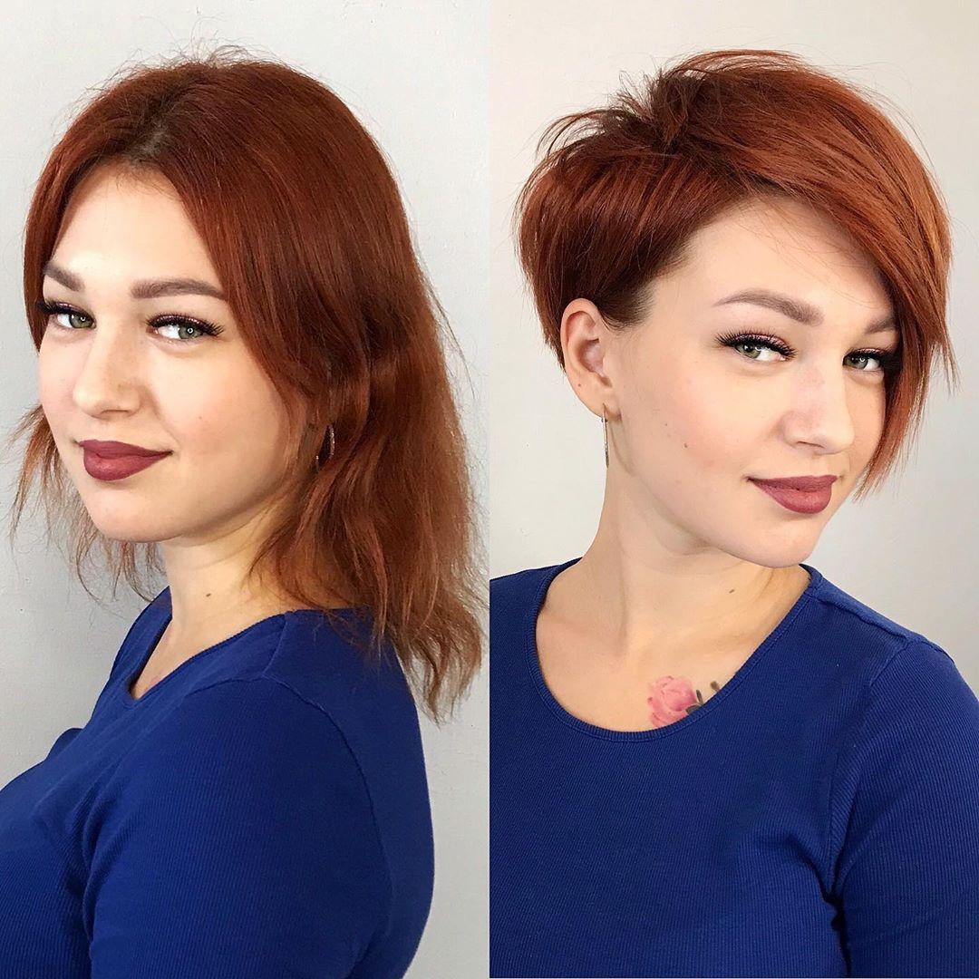 Short Asymmetrical Haircut for High Cheekbones