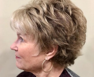 Feathered Cut for Women with Fine Hair