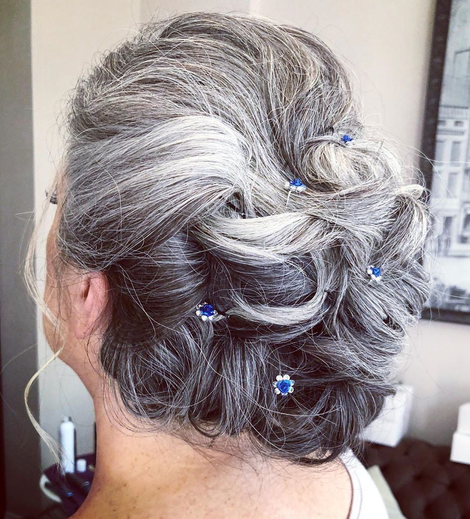 Over 60 Mother of the Groom Updo