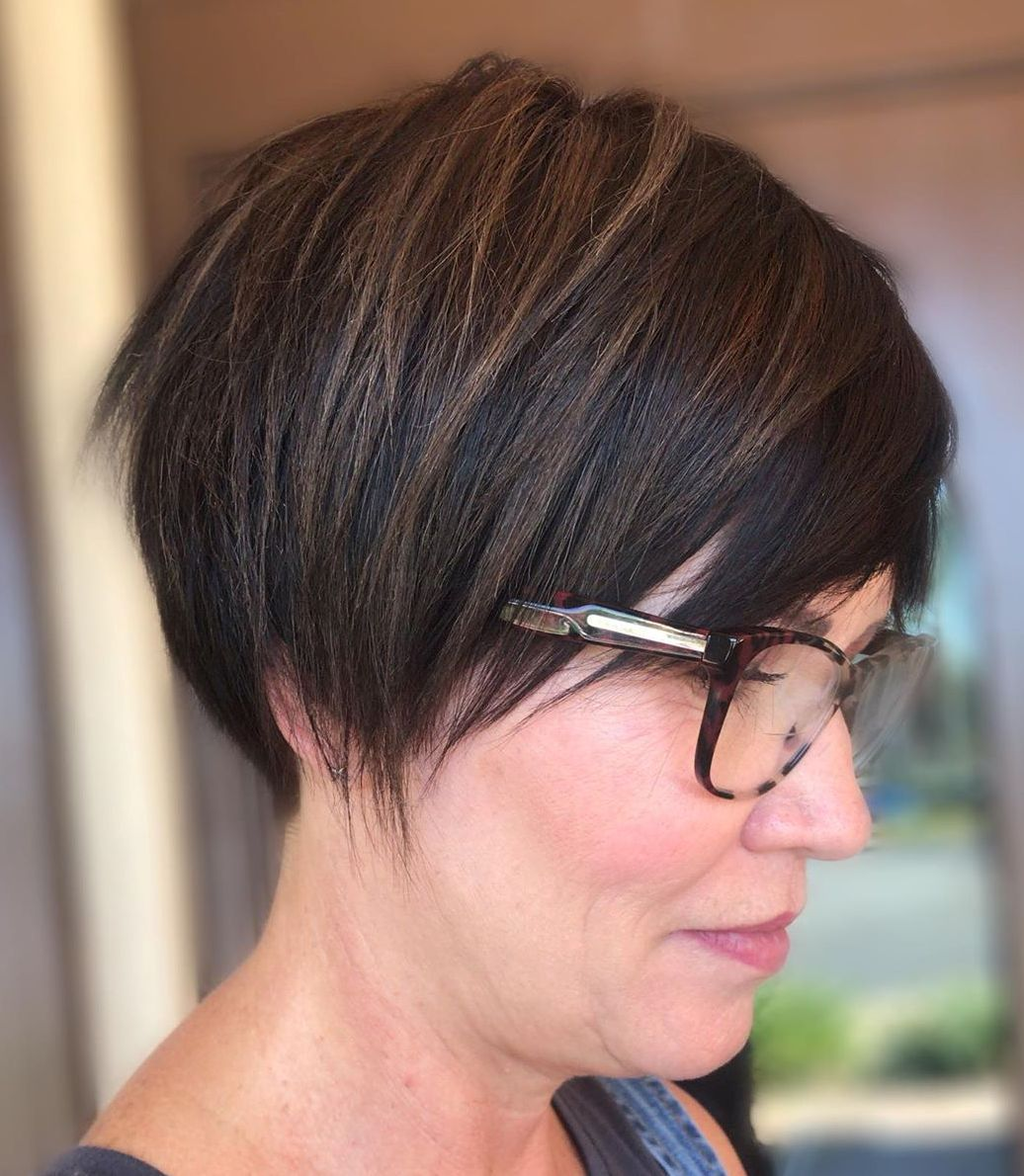 50 and Up Flattering Brunette Hair Color