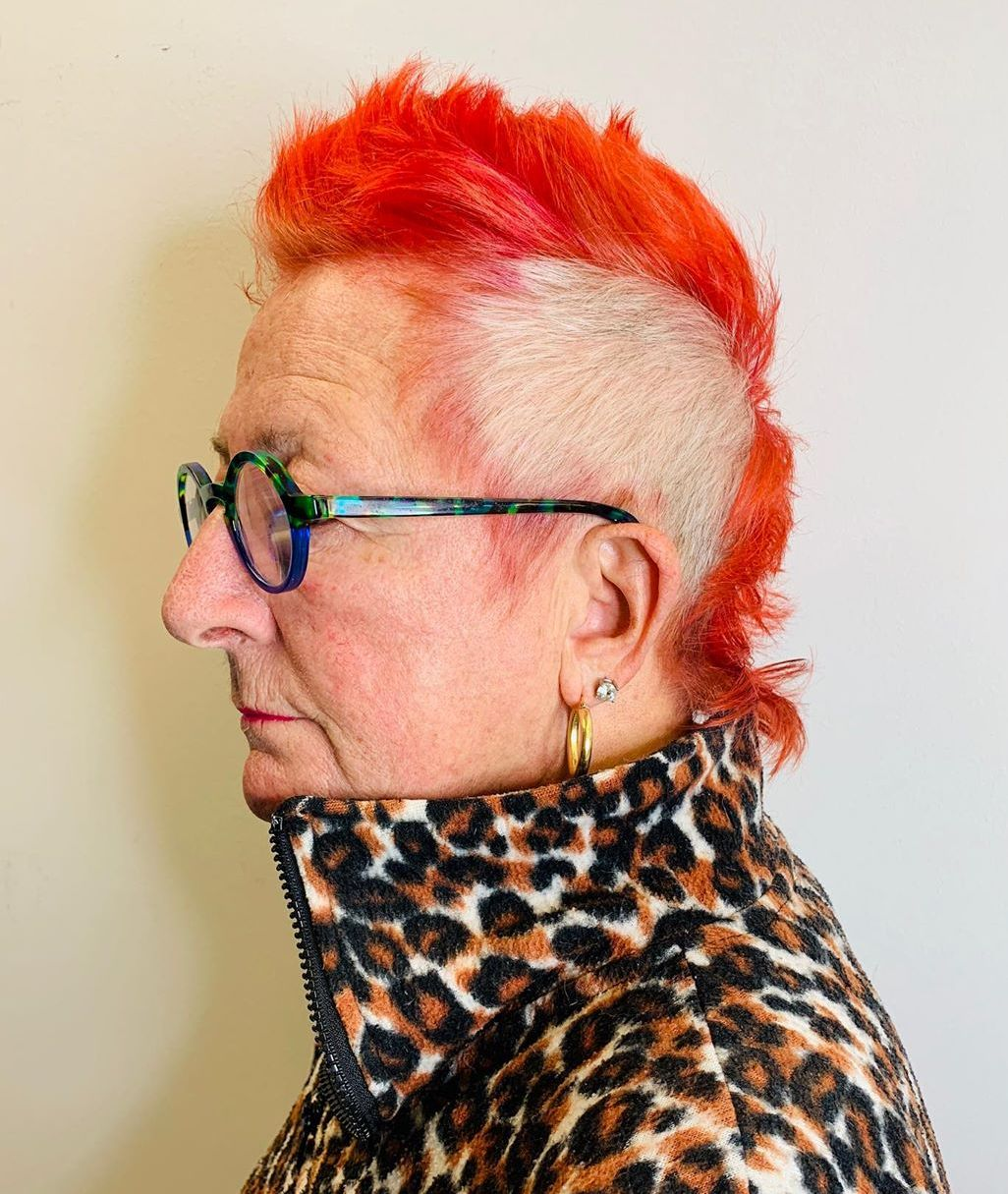 60 and Up Women's Mohawk