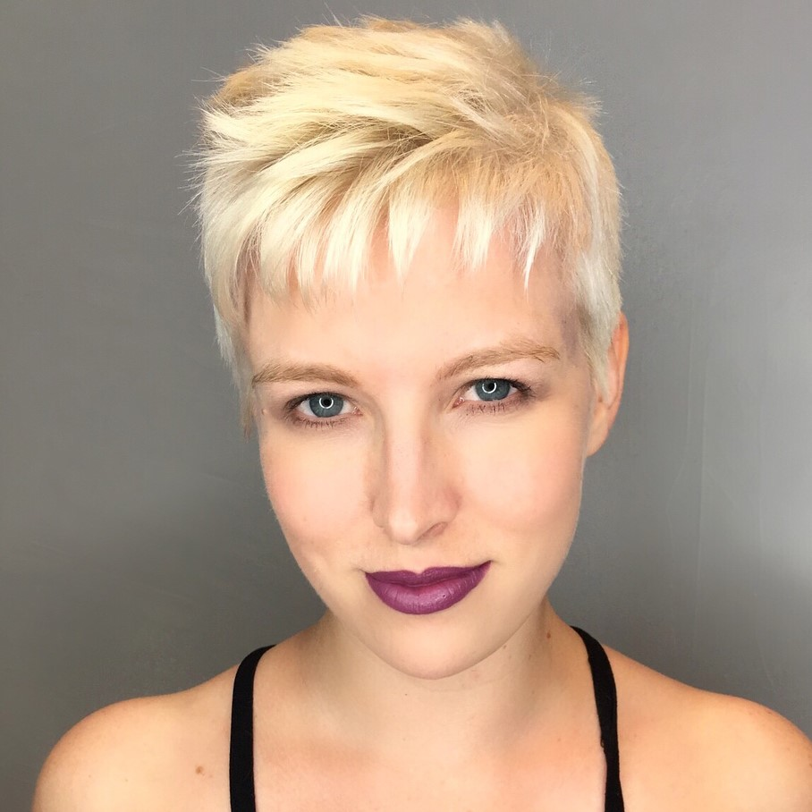 Razored Pixie Cut Style