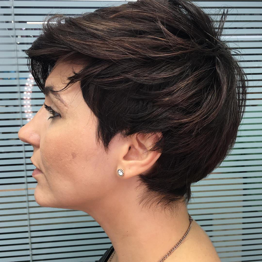 Textured Pixie Cut Idea
