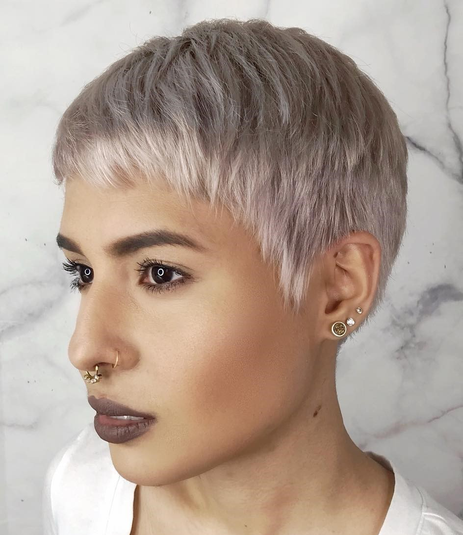 Light Short Pixie Cut