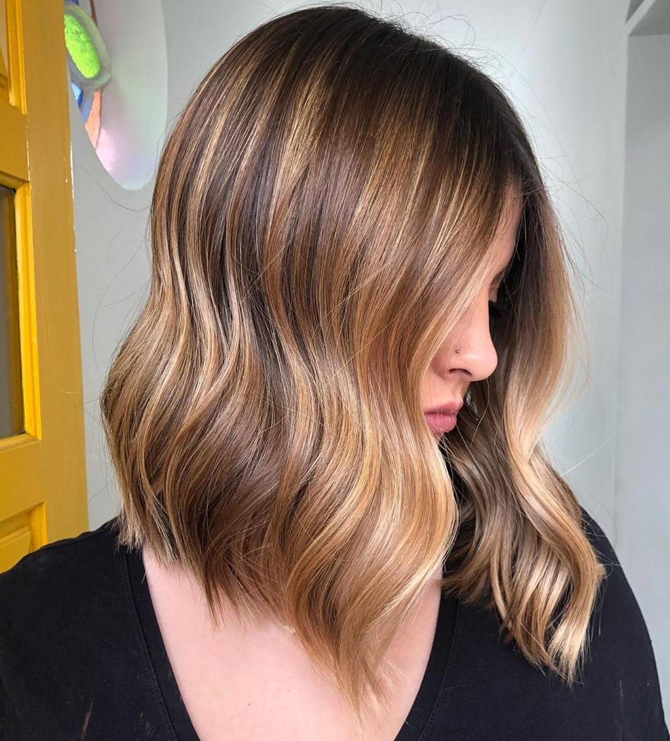 Mid-Length Smooth Flowy Hairstyle