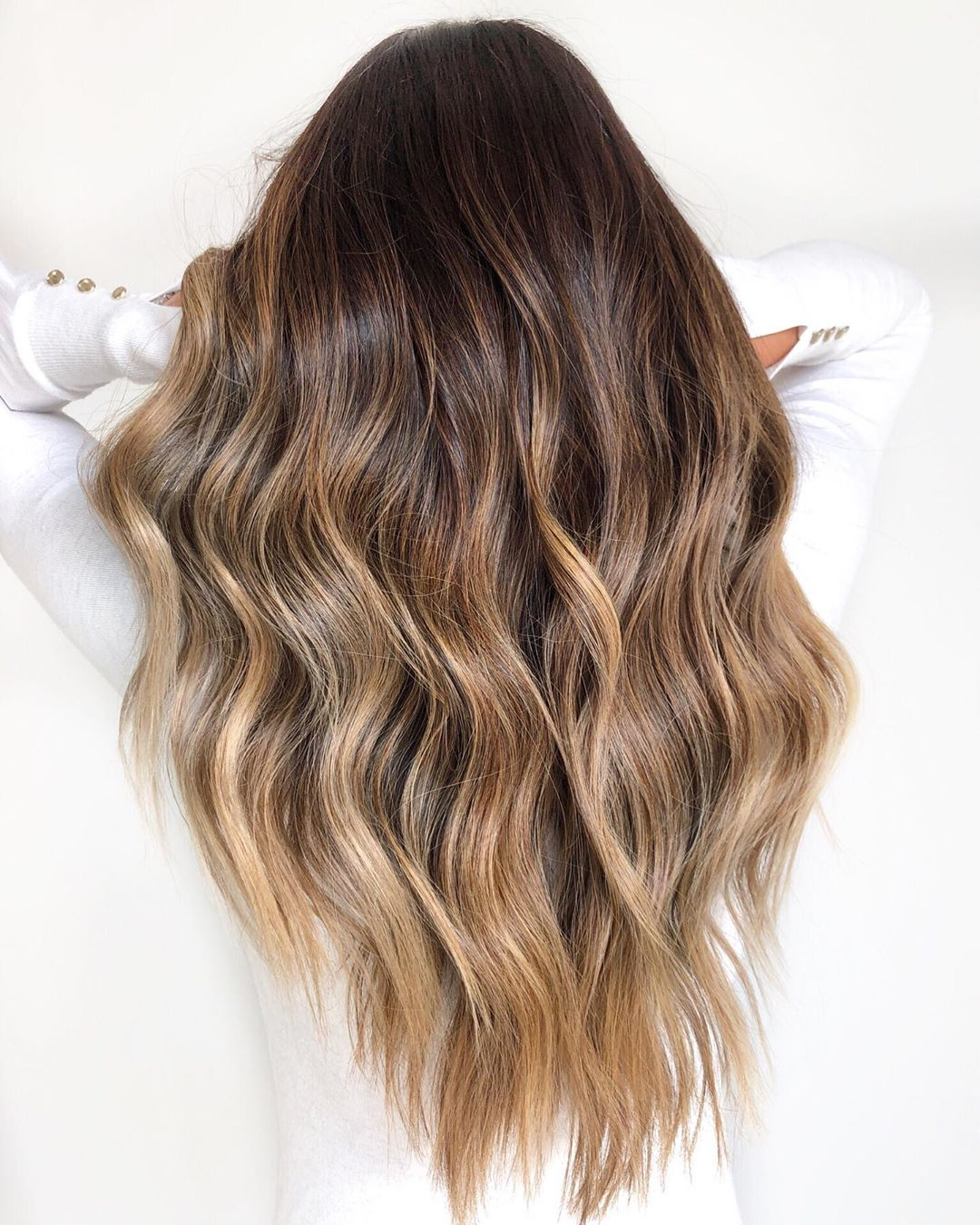 High Shine Mocha Latte Hair Color