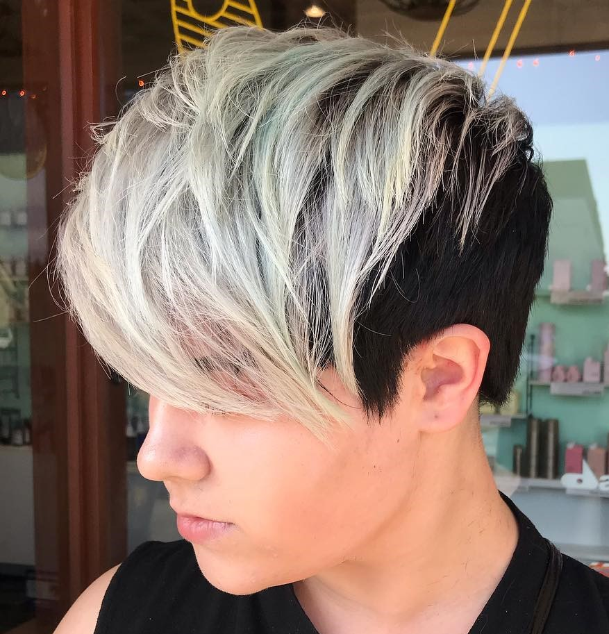 Two-Tone Pixie Cut