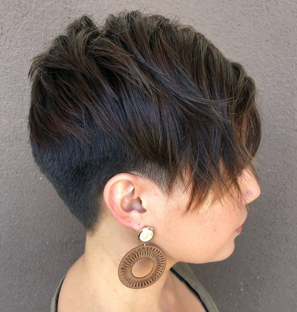 Low-Maintenance Pixie with Undershave
