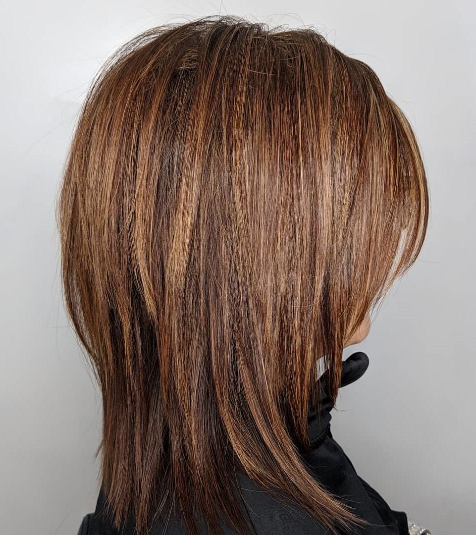 Straight Modern Shaggy Haircut