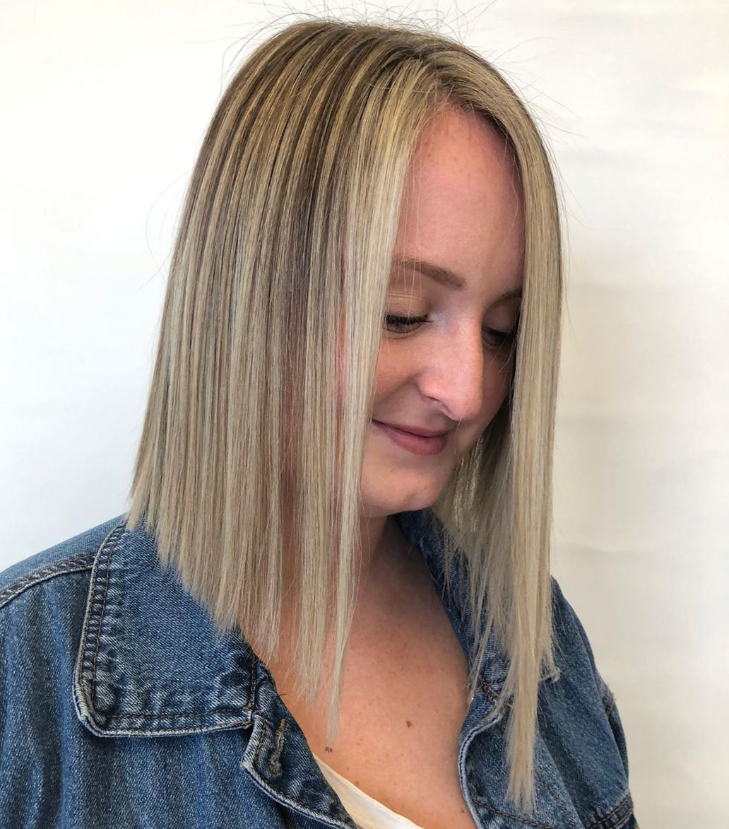 Long Blunt Bob Haircut for Thin Hair