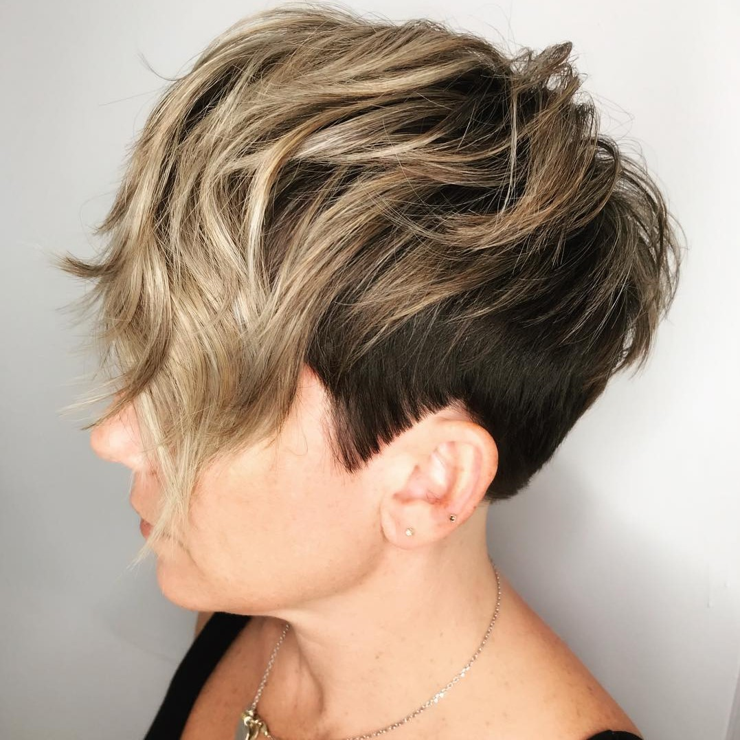 Short Sides Long Top Pixie