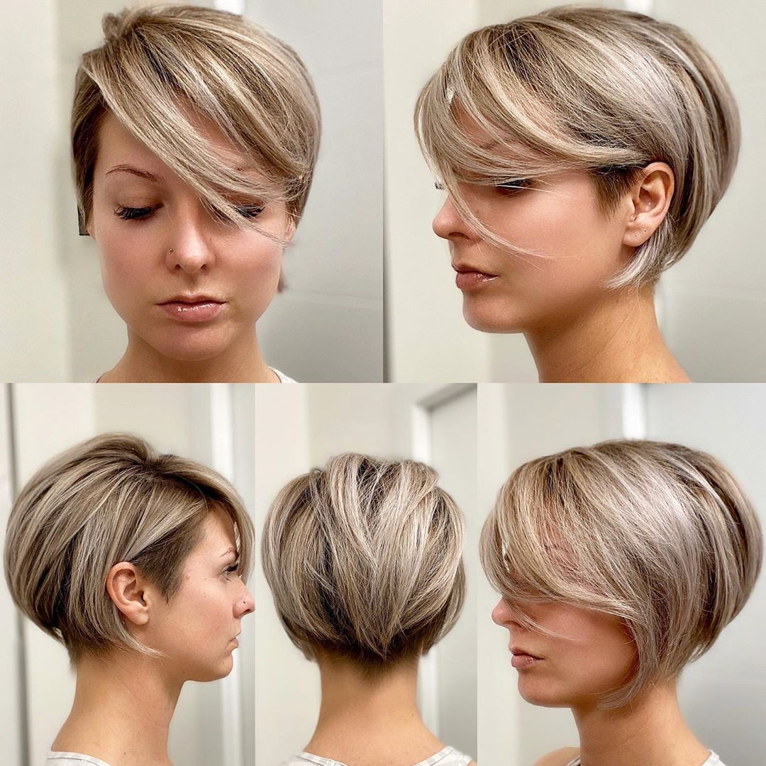 Pixie Haircut with Longer Front Layers