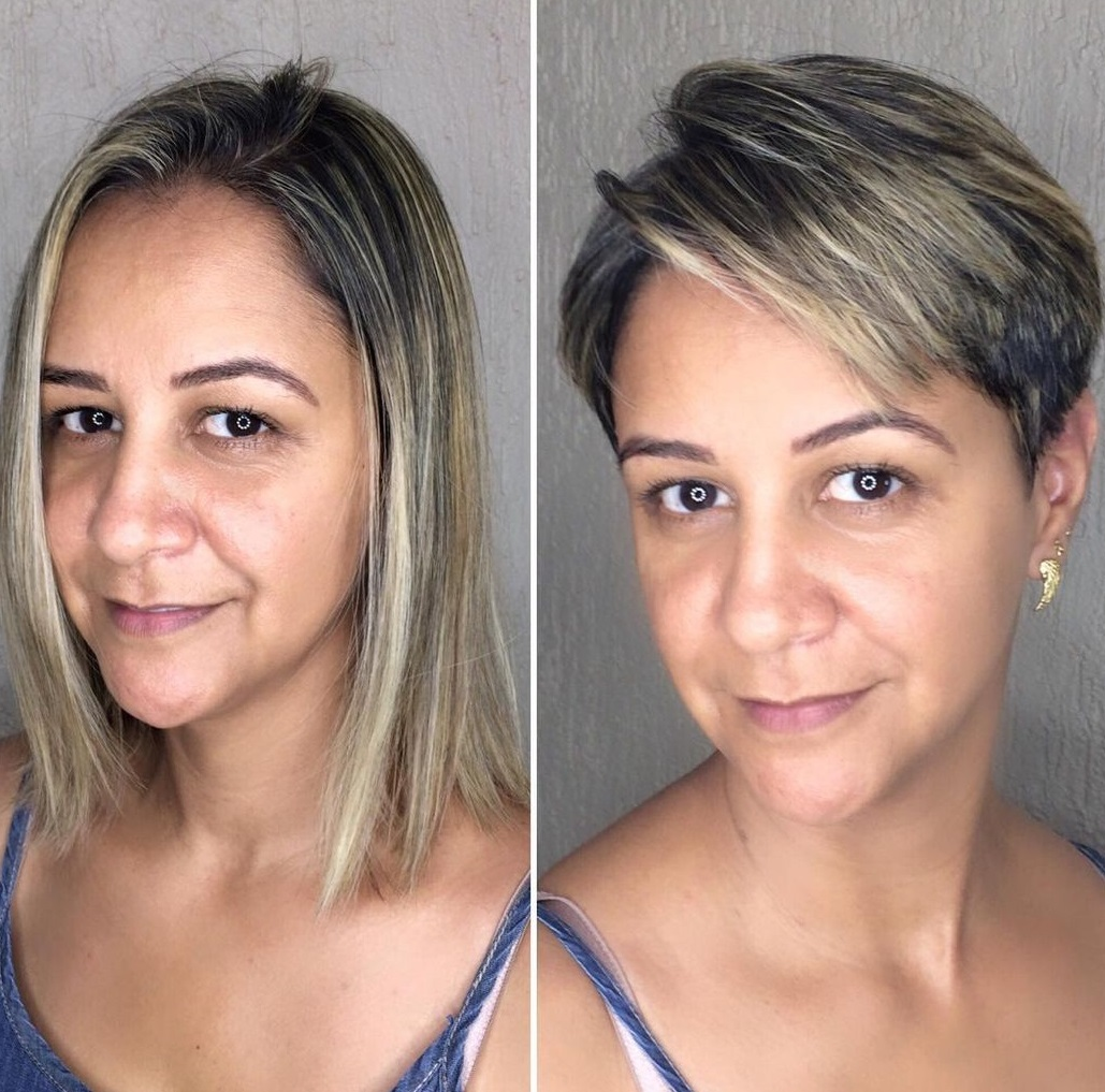 Refreshing Short Pixie