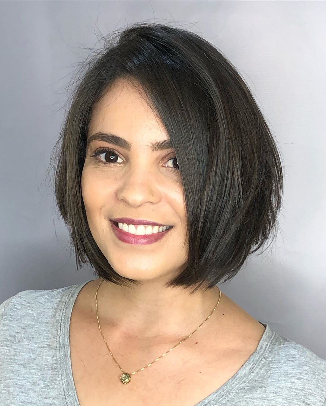 Chin-Length Bob Cut for Girls