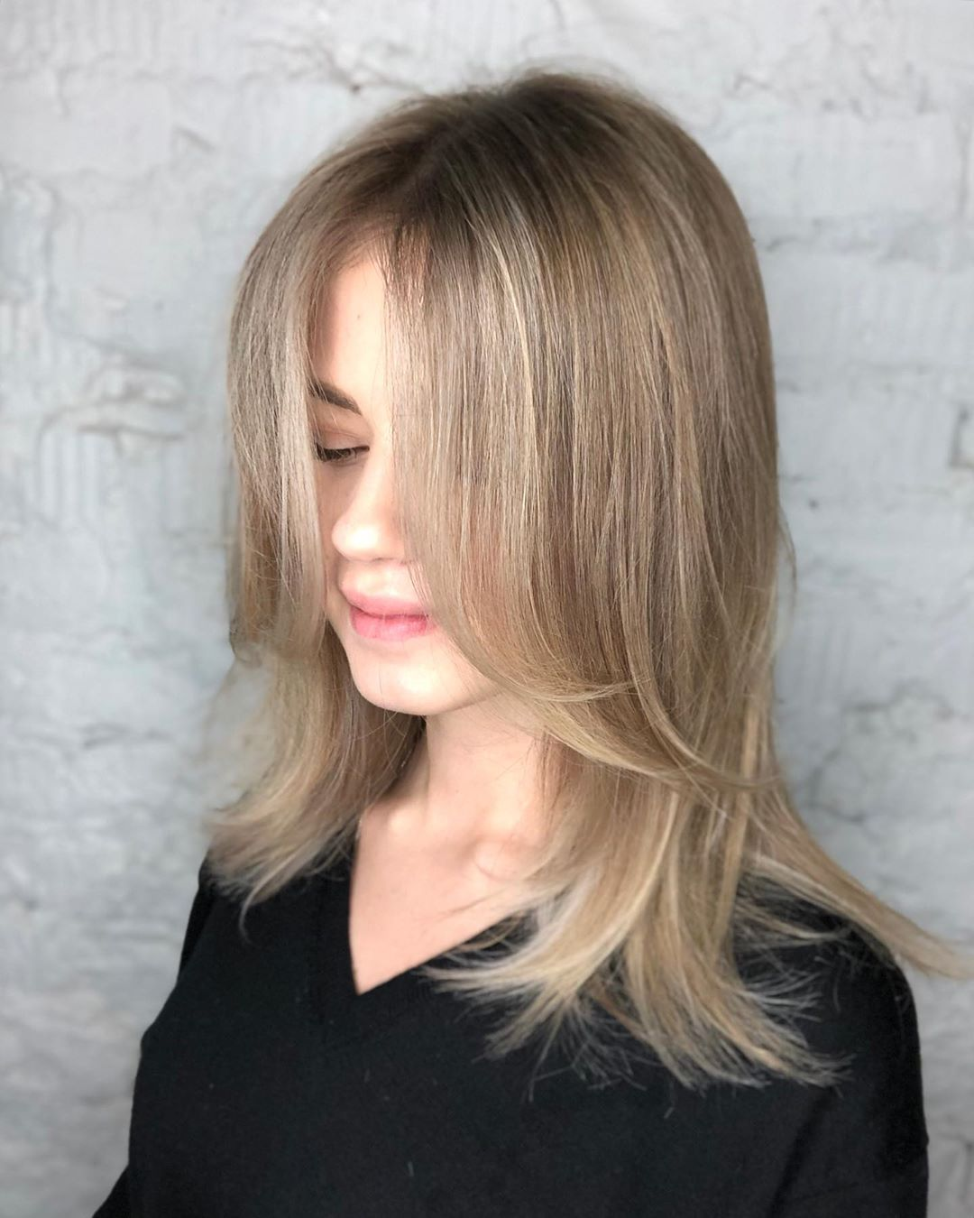 Face-Framing Layers for Fine Hair