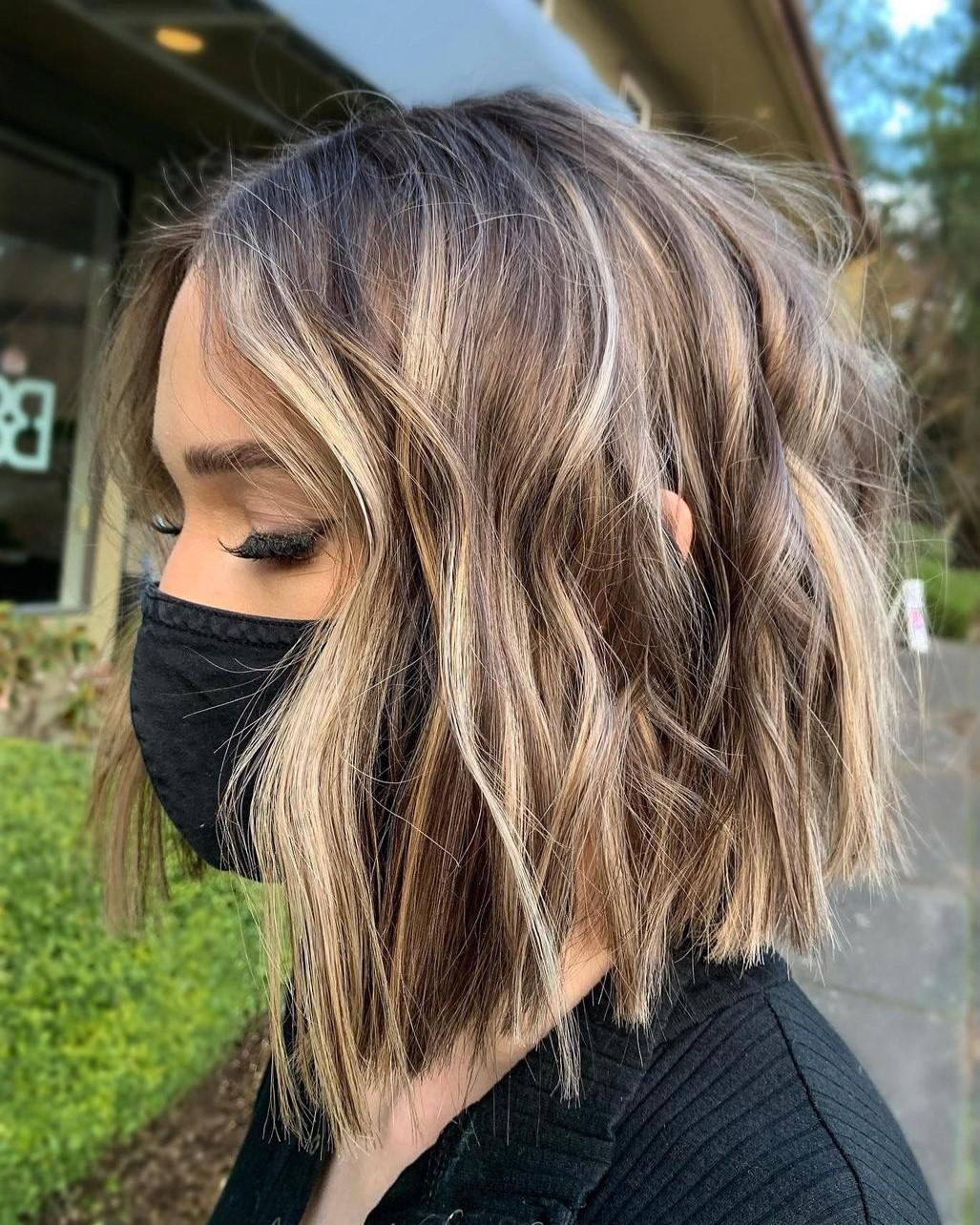 Choppy Female Haircut