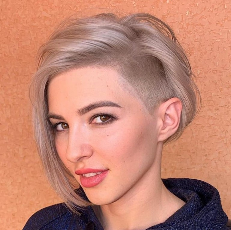 Pixie Bob with Shaved Undercut